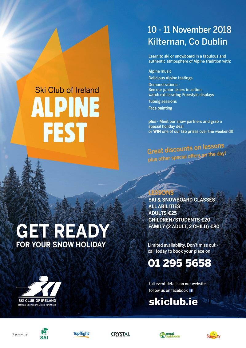 Alpine Fest 2018 Information