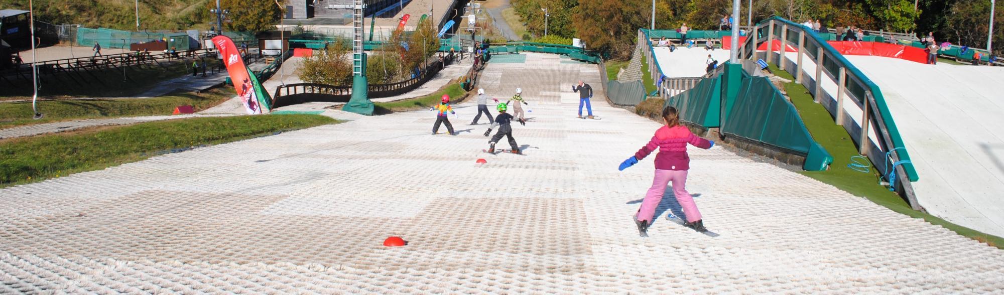 Ski Lessons at ski club of ireland