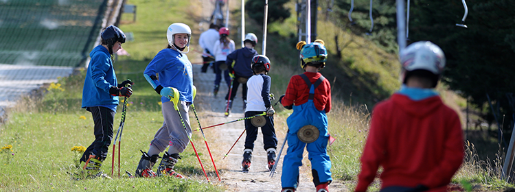 using the ski lift at ski club of ireland