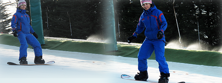 snowboarding lessons for students