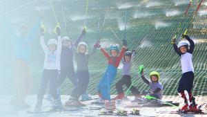 Kids at summer camp at the ski club of Ireland